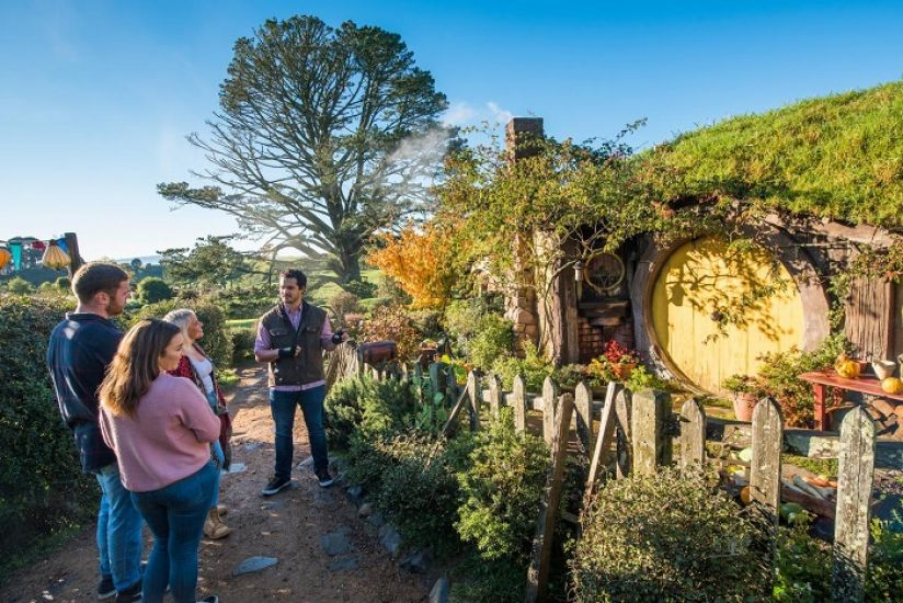 Auckland to Taupo via Hobbiton
