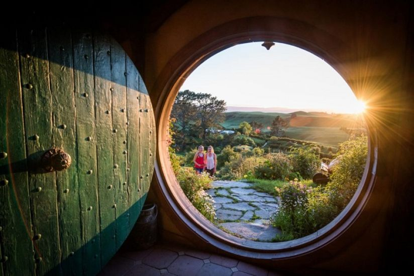 Auckland to Waitomo via Hobbiton