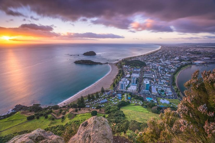 Hot Water Beach to Mount Maunganui
