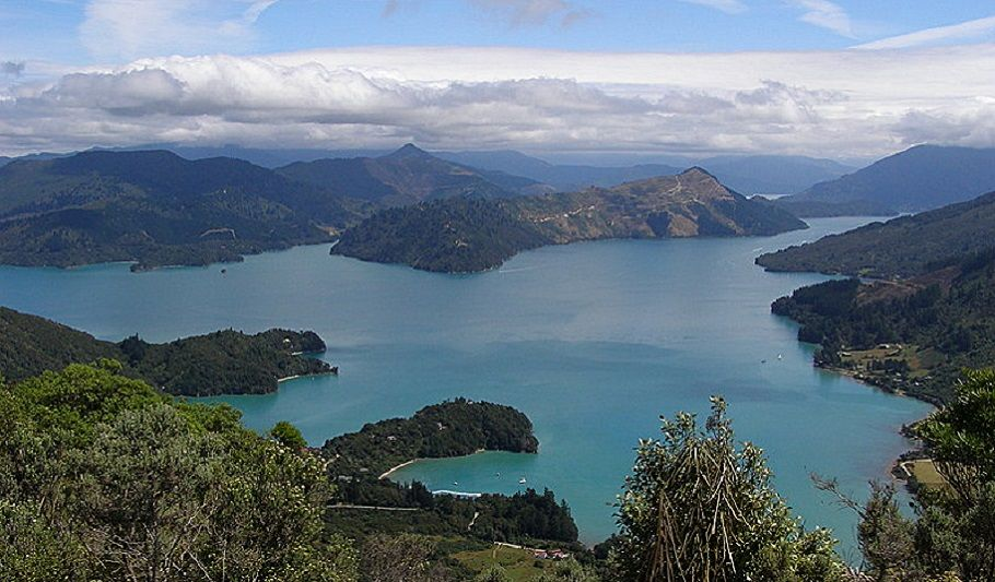 Blenheim to Abel Tasman National Park via Queen Charlotte Drive