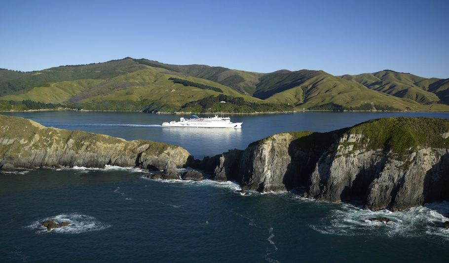 Blenheim to Wellington via Interislander Ferry